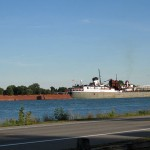 Lake Freighters on St. Clair River